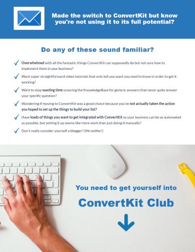 ConvertKit Club 1