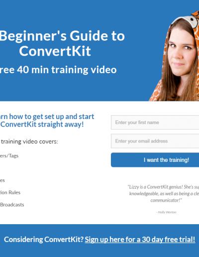Elizabeth Goddard - training video