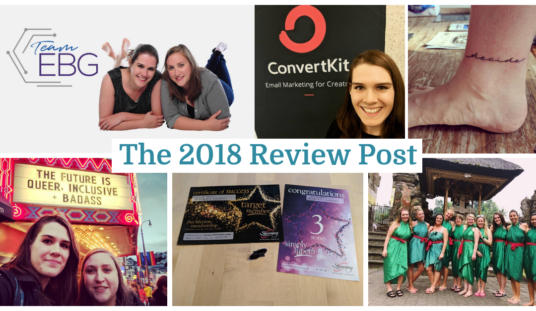 The 2018 Review Post