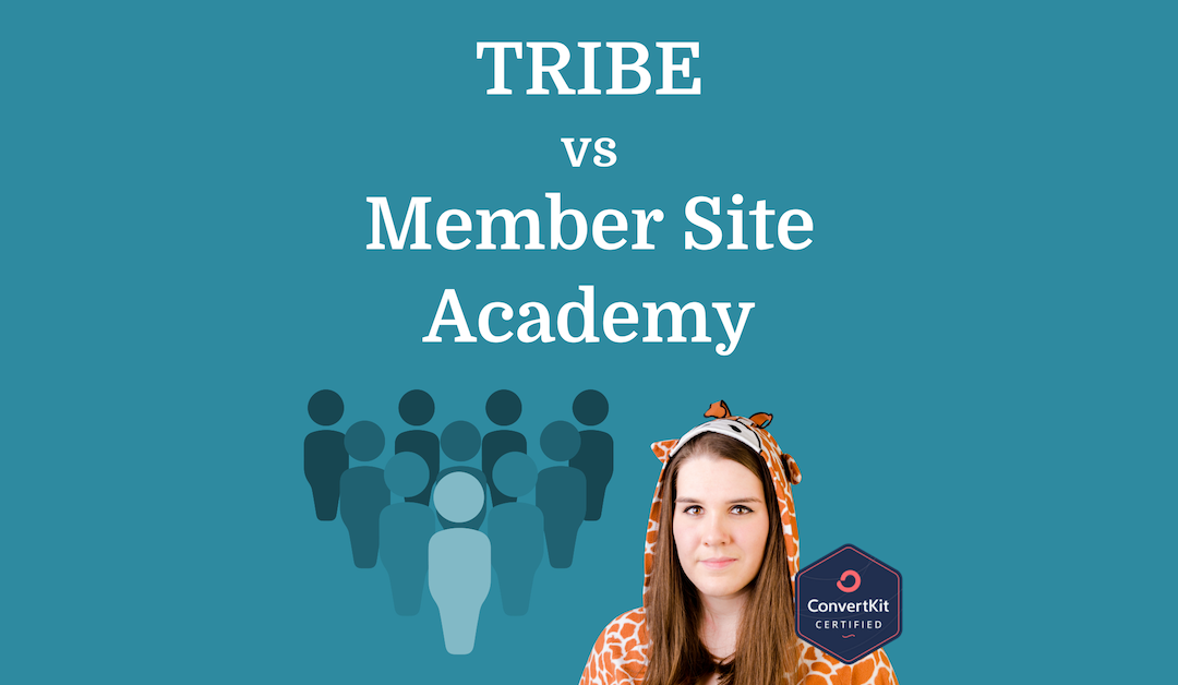 TRIBE vs. Member Site Academy | Full Review/Comparison