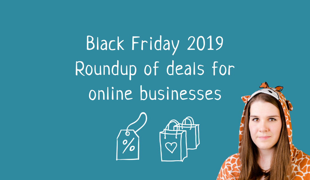 Black Friday 2019 – Roundup of deals for online businesses