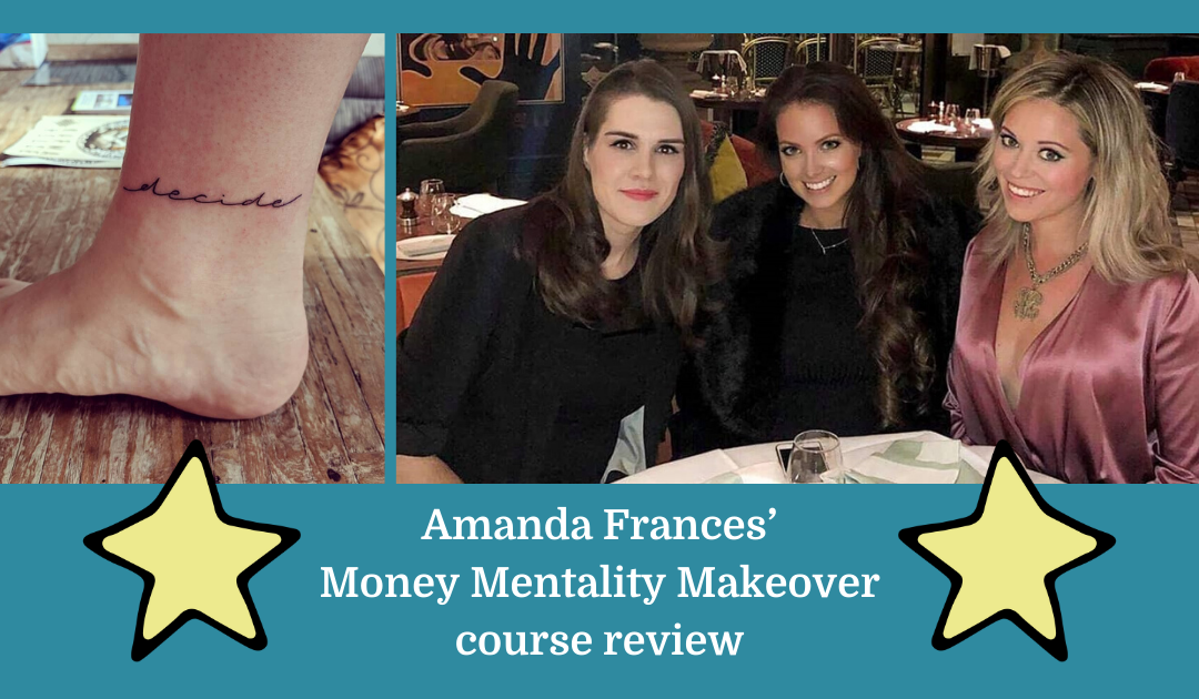 Amanda Frances' Money Mentality Makeover course review