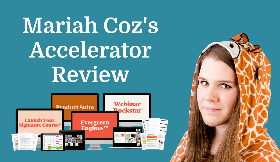 Mariah Coz's Accelerator Review
