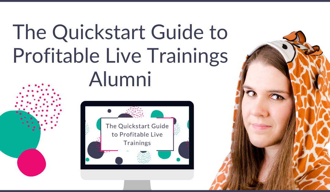 Profitable Live Trainings August Alumni