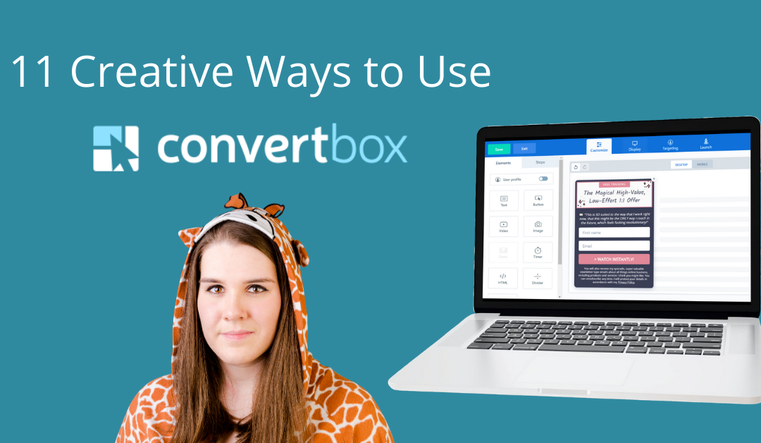 11 Creative Ways to Use ConvertBox | ConvertBox Review