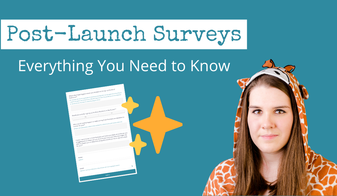 Post-Launch Surveys: Everything You Need to Know