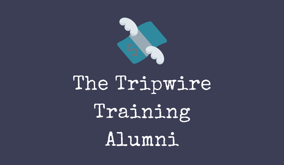 The Tripwire Training Alumni